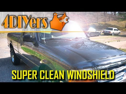 DIY: How to Super Clean your Windshield