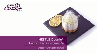 Frozen Lemon Lime Pie Made With NestlÉ Docello White Mousse Mix