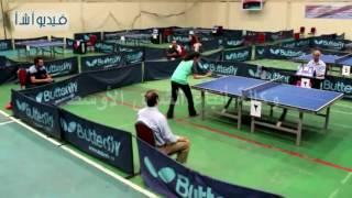 بالفيديو : بطولة الجمهورية لتنس الطاولة بالصالة المغطاه براس البر