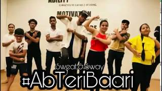 #AbTeriBaari Feat. Ayushmann Khurrana x Naezy| Dance choreography swaegi Suraj x prachi swaet & Sway