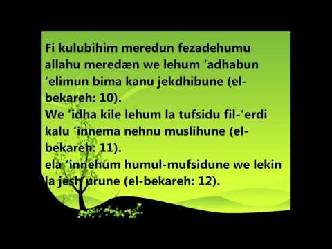 Meso Ajetet 1-15,Sure EL-BEKARE