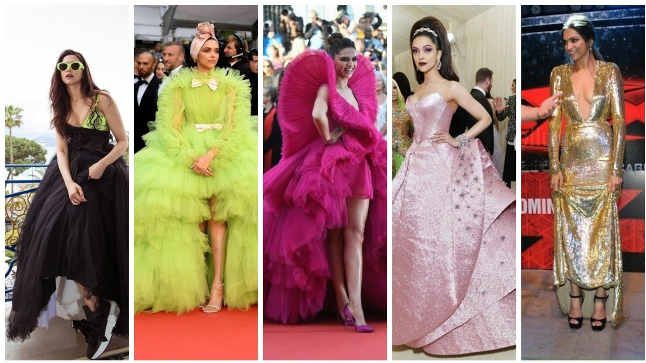 Stylish Deepika Padukone party wear gown collection - YouTube