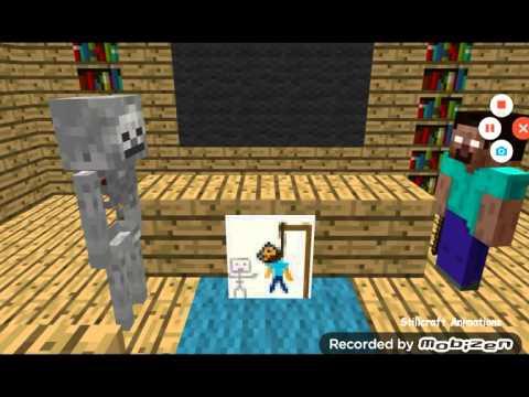 Minecraft canavarlar okulu