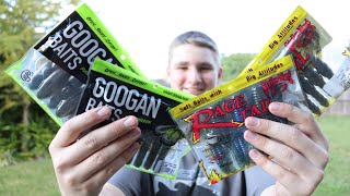 GOOGAN BAITS UNBOXING AND COMPARISON VS. STRIKE KING!! Are They Worth It?