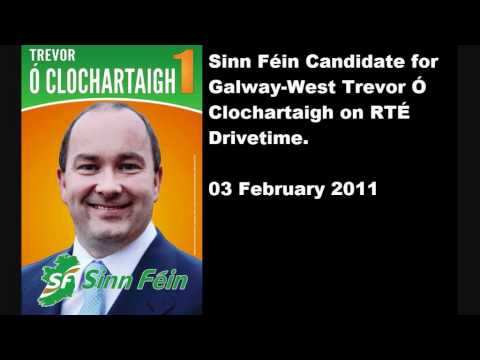 Trevor Ó Clochartaigh on RTÉ Drivetime