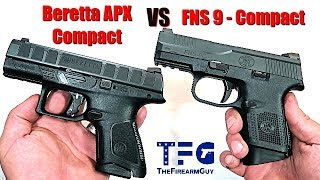 Beretta APX Compact VS FNS 9C - TheFireArmGuy