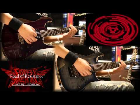 【TAB】Babymetal - Road of Resistance cover by Japan Kc