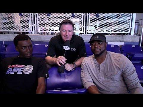 ATL@MIA: Tom and Nick Gordon talk baseball