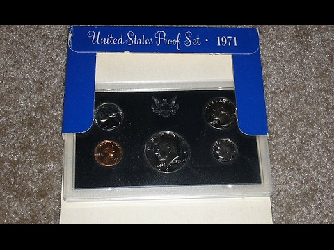 US (United States) mint sets and proof sets