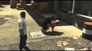GTA V Dog Porn