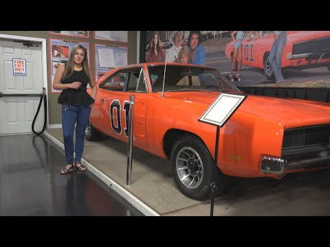 Original First Session Dukes of Hazzard 1969 Dodge Charger - Volo Auto Museum - 4K