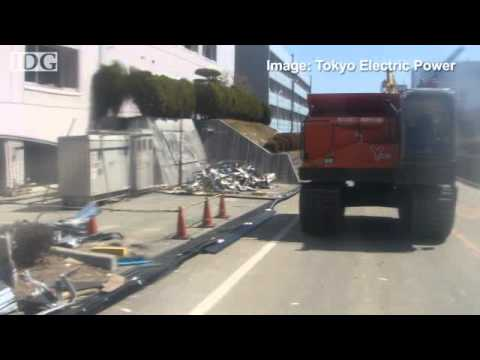 Remote-controlled helicopters, vehicles helping clean-up in Fukushima Daiichi