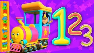 Number Train | Kindergarten Songs And Learning Videos For Kids