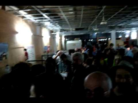 Complete chaos at Ouagadougou airport