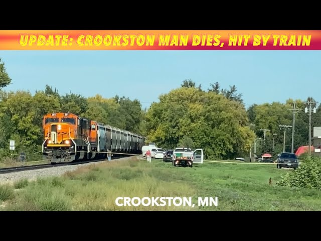 BREAKING NEWS UPDATE: Crookston Man Dies, Hit By Train