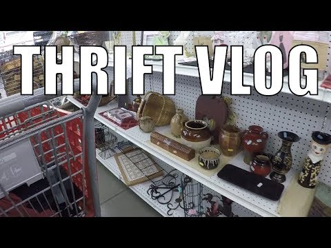 Thrift Store Shopping for Resale - Clothes - Sega + more