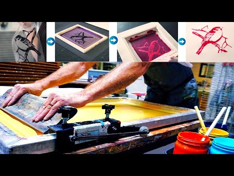 Screen Printing A to Z  ।। Step by Step Process of Screen Printing