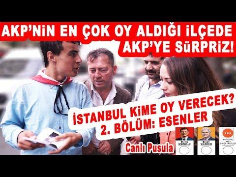 AKP'nin Kalesi Esenler'de AKP'ye Büyük Sürpriz! 23 Haziran İstanbul