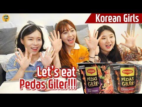 Let's eat Pedas Giler together!  Blimey June Live Mukbang