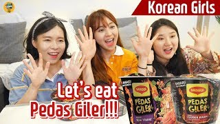 Let's eat Pedas Giler together! |Blimey June Live Mukbang