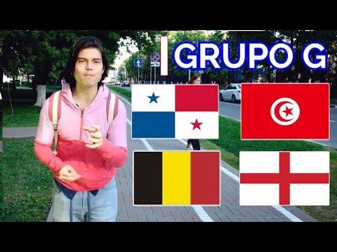 CURIOSIDADES DEL MUNDIAL RUSIA 2018 - Grupo G - PANAMÁ - INGLATERRA - BÉLGICA - TÚNEZ