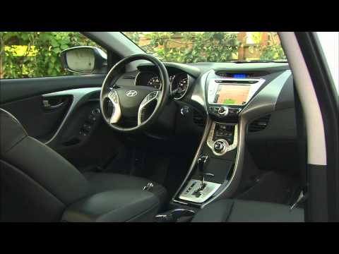 2012 Hyundai Elantra Limited HD Video Review