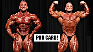 Hunter Labrada Wins IFBB Pro Card at NPC Nationals