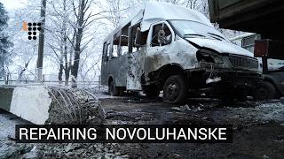 Hromadske Visited Novoluhanske To Find Out What Was Really Goi…