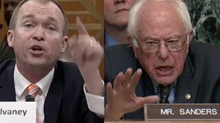 Bernie Sanders SHREDS Trump's Budget and CRUSHES Mick Mulvaney