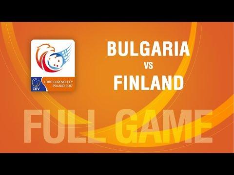 Bulgaria vs Finland | PLAYOFF | LOTTO EUROVOLLEY POLAND 2017