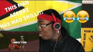 Azerrz- VOICE Impressions Make FORTNITE player WHEEZE Hysterically!: REACTION VIDEO!!