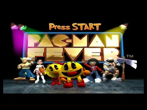 Pac-Man Fever GameCube Playthrough - Painfully Slooooooow