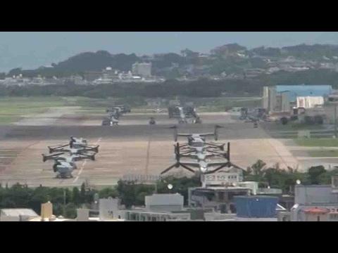 Japan begins contentious Futenma relocation plan