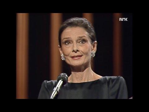 """Audrey Hepburn et al in """"Elegy for Anne Frank"""" (Lukas Foss) - 1990"""