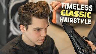Timeless Men's Classic Business Haircut Tutorial | BluMaan 2018