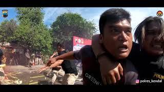 Rusuh Massa, Polres Kendal Kendalikan Ratusan Warga yang Protes KPU