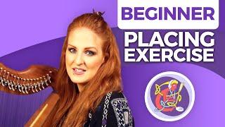 Beginner Irish Harp Free Lesson: 'Chimes' Finger Placement Exercise