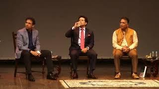 Democracy's XI: Sachin Tendulkar, Sunil Gavaskar \u0026 Harsha Bhogle with Rajdeep Sardesai