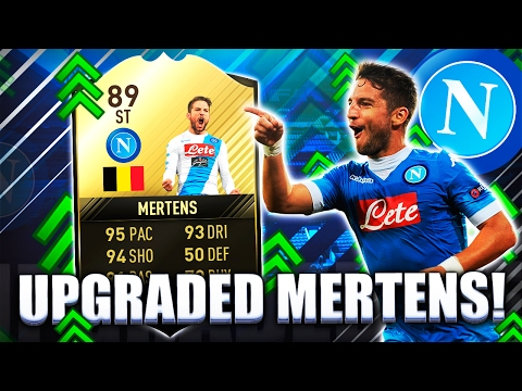 NEW UPGRADED FIF MERTENS 89! EA MADE HIM EVEN MORE INSANE FIFA 17 ULTIMATE TEAM
