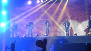 Backstreet Boys - Show me the meaning of being lonely live in Minsk, Belarus 24.02.2014