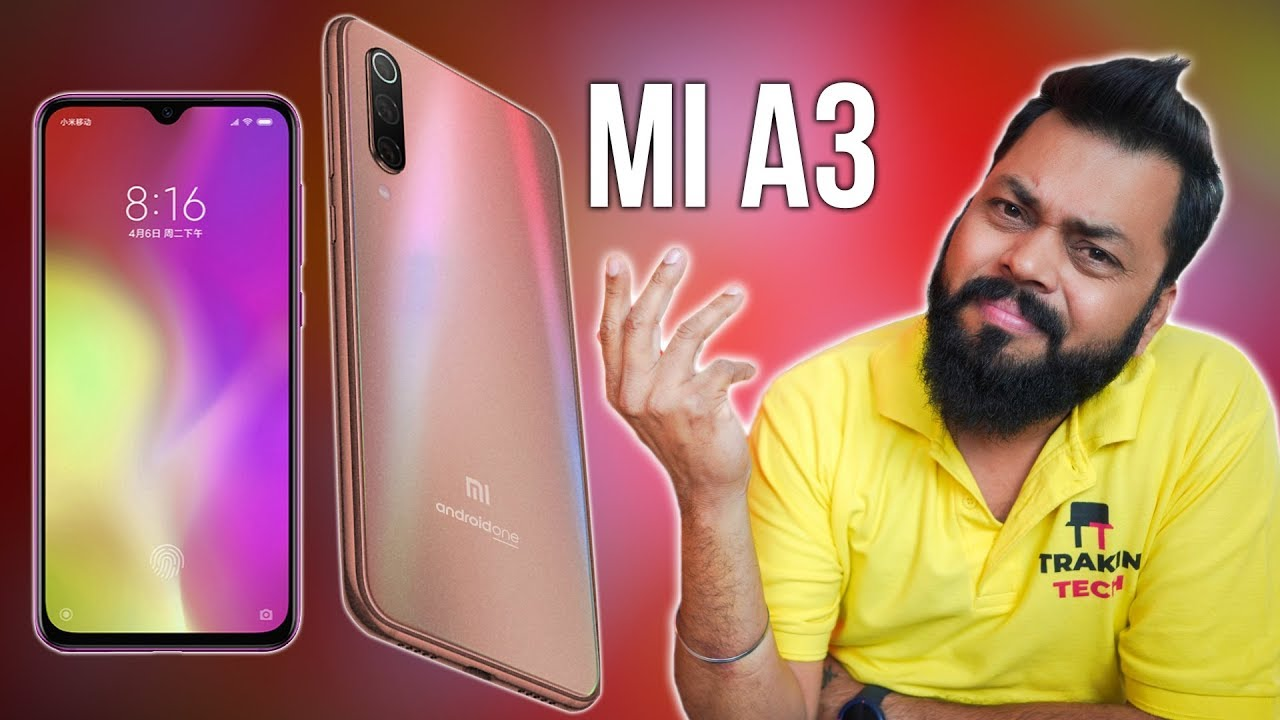 Mi A3 India Launch: Specs, Price, Features, Availability & More!