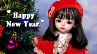 Happy New Year! 도리스돌 30cm 인형 리…