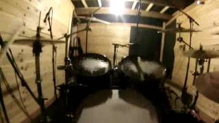 BTK (bind Torture Kill) A la place du batteur Intro studio La Grange Rock Metal hardcore B