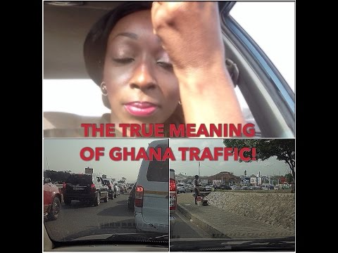 My bad experience of REAL GHANA TRAFFIC!!