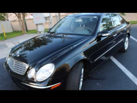 2005 BLACK MERCEDES-BENZ E-CLASS E320 CDI (WDBUF26J85A) with an 3.0L engine, Automatic transmission, located at 6921 40th St N, Pinellas Park, FL, 33781, (727) 366-8136, 27.834944, -82.687653 - Photo #0