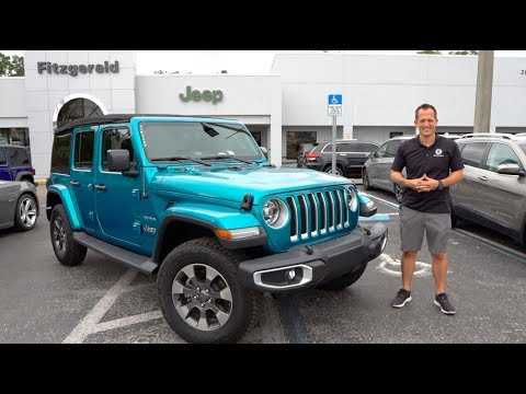 Is the 2019 Wrangler Unlimited Sahara the BEST new Jeep to BUY?