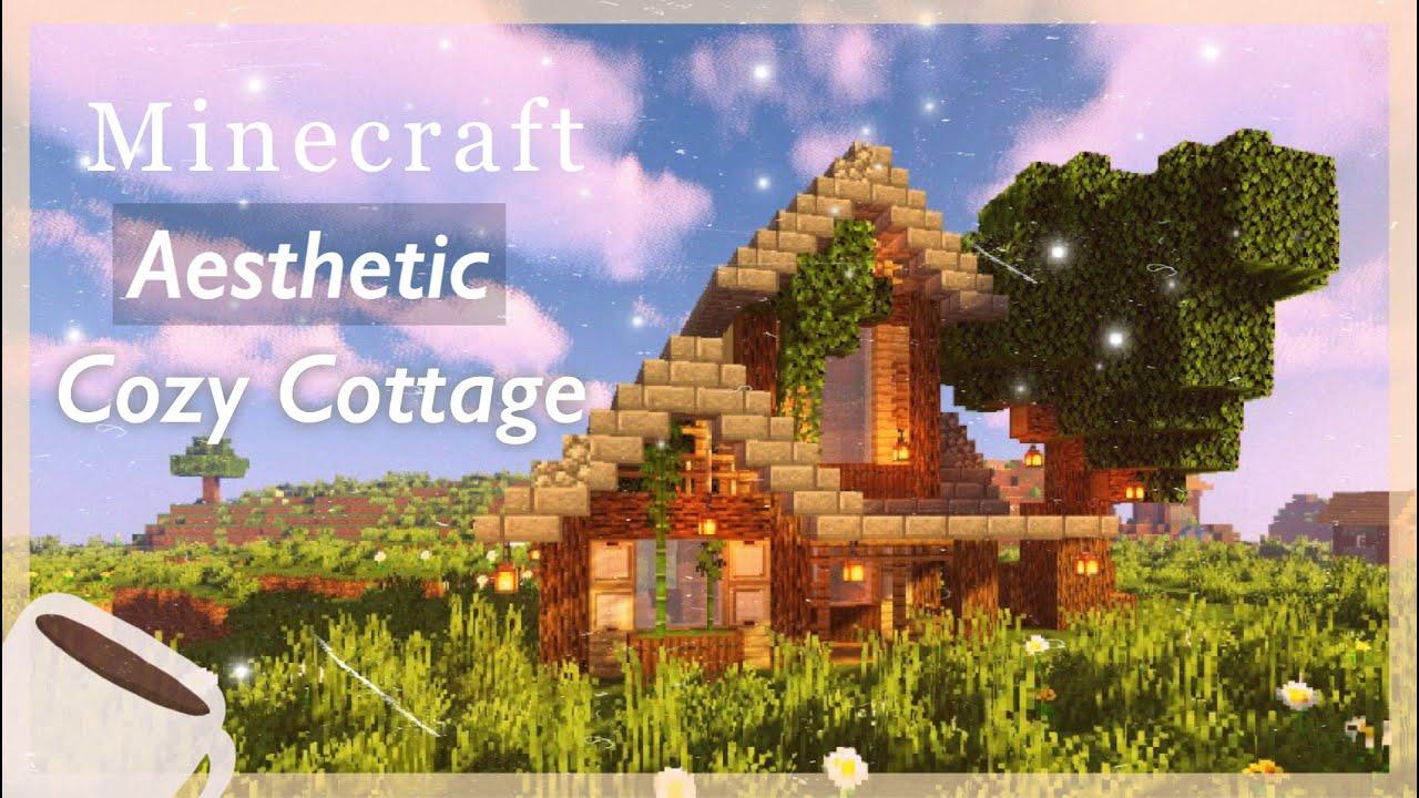 Minecraft ͘¼ð™šð™¨ð™©ð™ð™šð™©ð™žð™˜ Cozy Cottage Minecraft House Tutorial Youtube