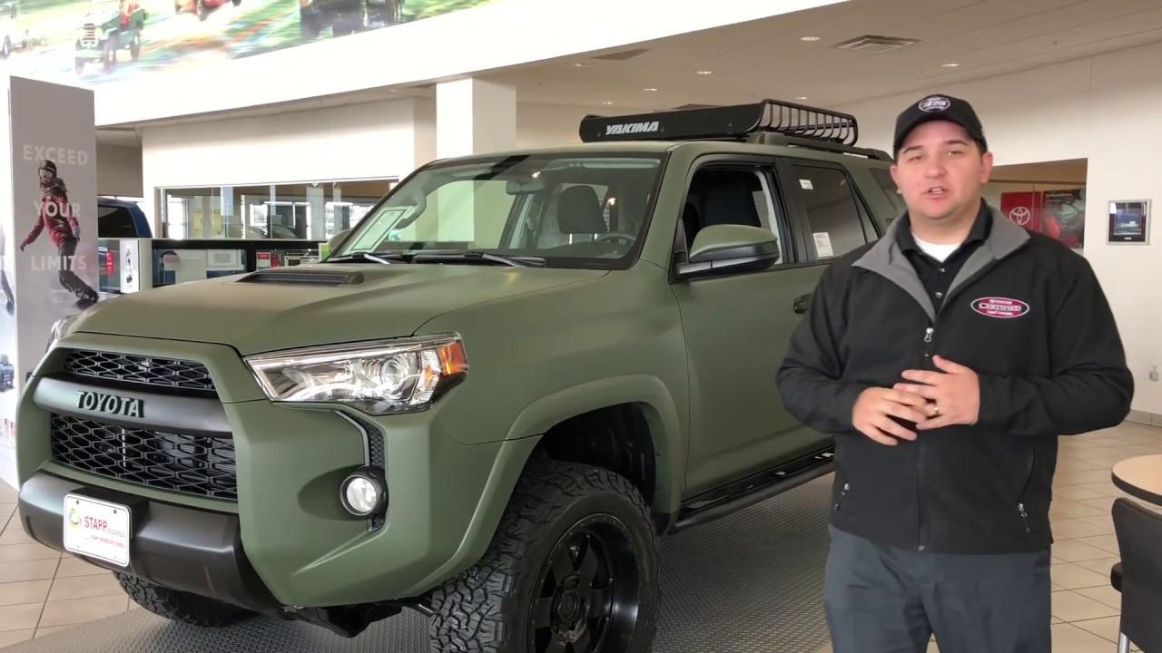 2018 Toyota 4runner Stapp I25 Custom Wrapped Youtube