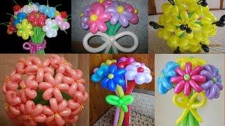 Сердцевинки для цветов из воздушных шариков (Stamens for flowers balloon)