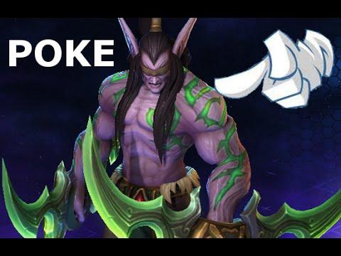 Poke Illidan | Heroes of the Storm Jokes | Hots Heroes Funny Poke Dialog Voice Lines